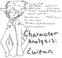 Character Analysis Luipun by Caryin