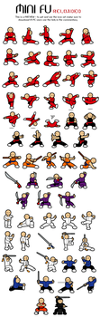 Mini Fu Reloaded icon set by Majnouna