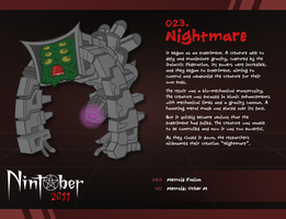 Nintober 023. Nightmare by fryguy64