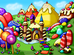 :C: Candy Land by louisalulu