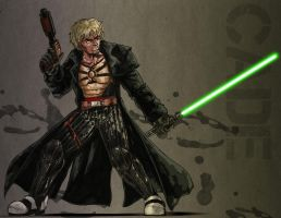 Cade Skywalker - colored by J-Garou