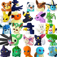 Pokemon Icons by elenxi