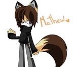 Mathew the fox by Miyuki0Love
