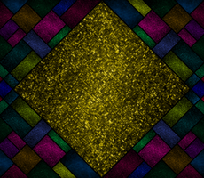 Triangle, Squares, and Lines- colored by Midniteoil-Burning