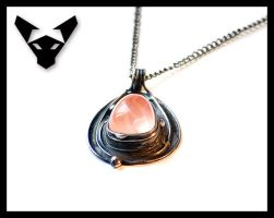 Necklace with Rose Quartz (a new picture) by Artegato