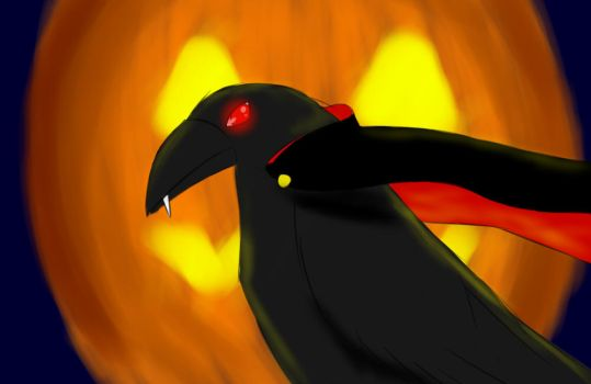 Vampire Crow by Roosterz