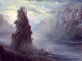 Soundless Harbour by velaine