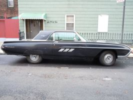Side view of a 1963 Ford Thunderbird by Brooklyn47