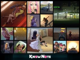 Know Note Song Images  set 1 by RicoD-DA