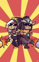 Ashe and Tryndamere... by Artsed