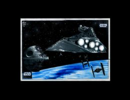 Topps Star Wars Galaxy Puzzle by AstroVisionary