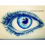 Blue Eye by Drawingmyworld