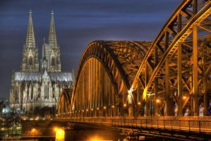 cologne cathedral by bahamutzero86