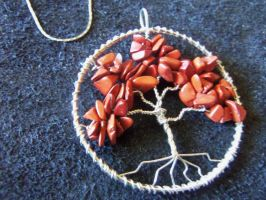 Red Jasper Tree of Life Pendant by ItsAWrap