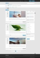 Indulge - Clean PSD for Forums and Blogs by Rohit-Creations