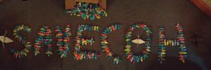 1,000 Paper Cranes for City of Heroes by Matoro16