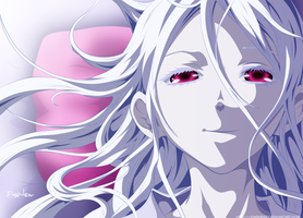 Shiro Was happy~ Deadman Wonderland 58: The End by DarkMaza