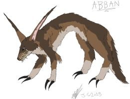 Abban from 'Wolves' by miayan