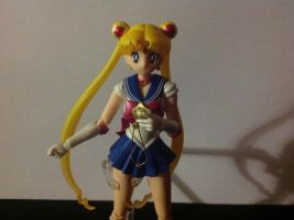 SH sailor moon with star locket by TennyCap