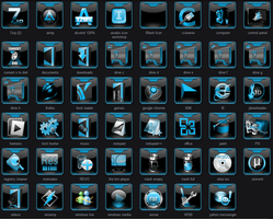 Event Horizon - Dock Icons by qubes