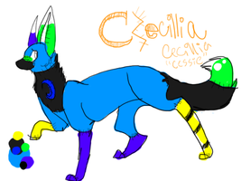 Cessie FULL BODY by wolf-of-hearts