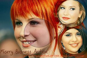 Misery Business Action by MySweetpowerLove