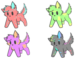 Free Adopts by Ogrieness
