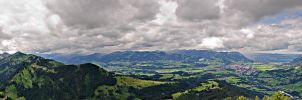 Mountain Panorama Imberger Horn by IT-Sniper