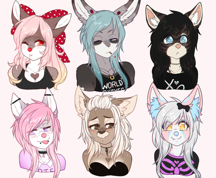 June Bust Commissions by heartXsurgery