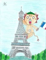 Kon Traveling In France by Grimmichou