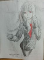 Slenderman - Lainess by krow000666