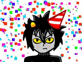 Happy Birthday Karkat!!! by lollipop-lala