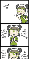And now a message from a Panda. by PumpkinPandas