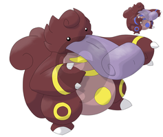 CONTEST FAKEMON: LICKILO by mssingno