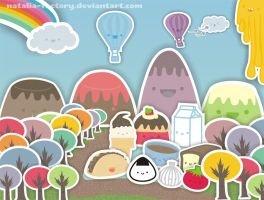 Kawaii Town by natalia-factory