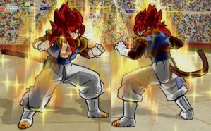 Gogetto SSj4 V2 by Fipossss