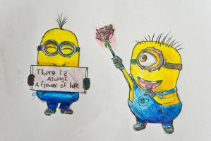 Despicable Me Minions by cochinosanchez