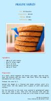 Praline biscuits - recipe by Melhyria