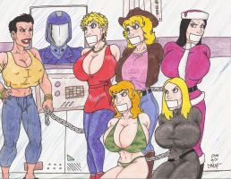Joes Girlfriends by Crash2014