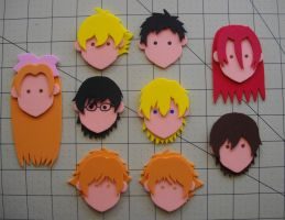 Foam Faces: Ouran by Meika02