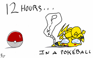 12 hours in a pokeball by MuNafusa