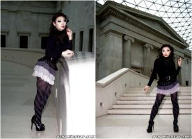 British Museum shoot I by yayacosplay