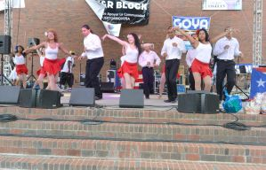 Puerto Rican/Latin Festival, Teen Couple Boogie5 by Miss-Tbones