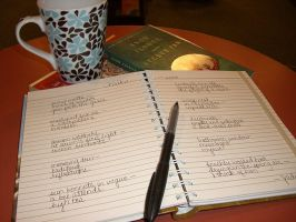 Tea House Haiku Journal by jade-pandora