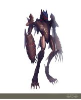 Red Riding Hood Wolf Color by edsfox