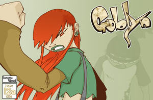 Goblyn Issue 12a by SolomonMars