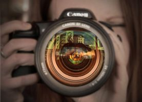 World inside the camera. by JunKarlo