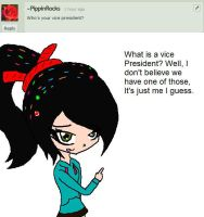 Question 1: Vice President? by Ask-Vanellope