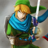 Warrior of Hyrule by crazyfreak