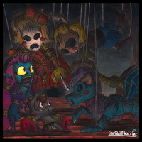 Demon Puppets by The-Quill-Warrior